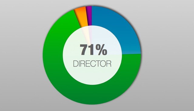 70% of Nonprofit Leaders Identify as The DIRECTOR